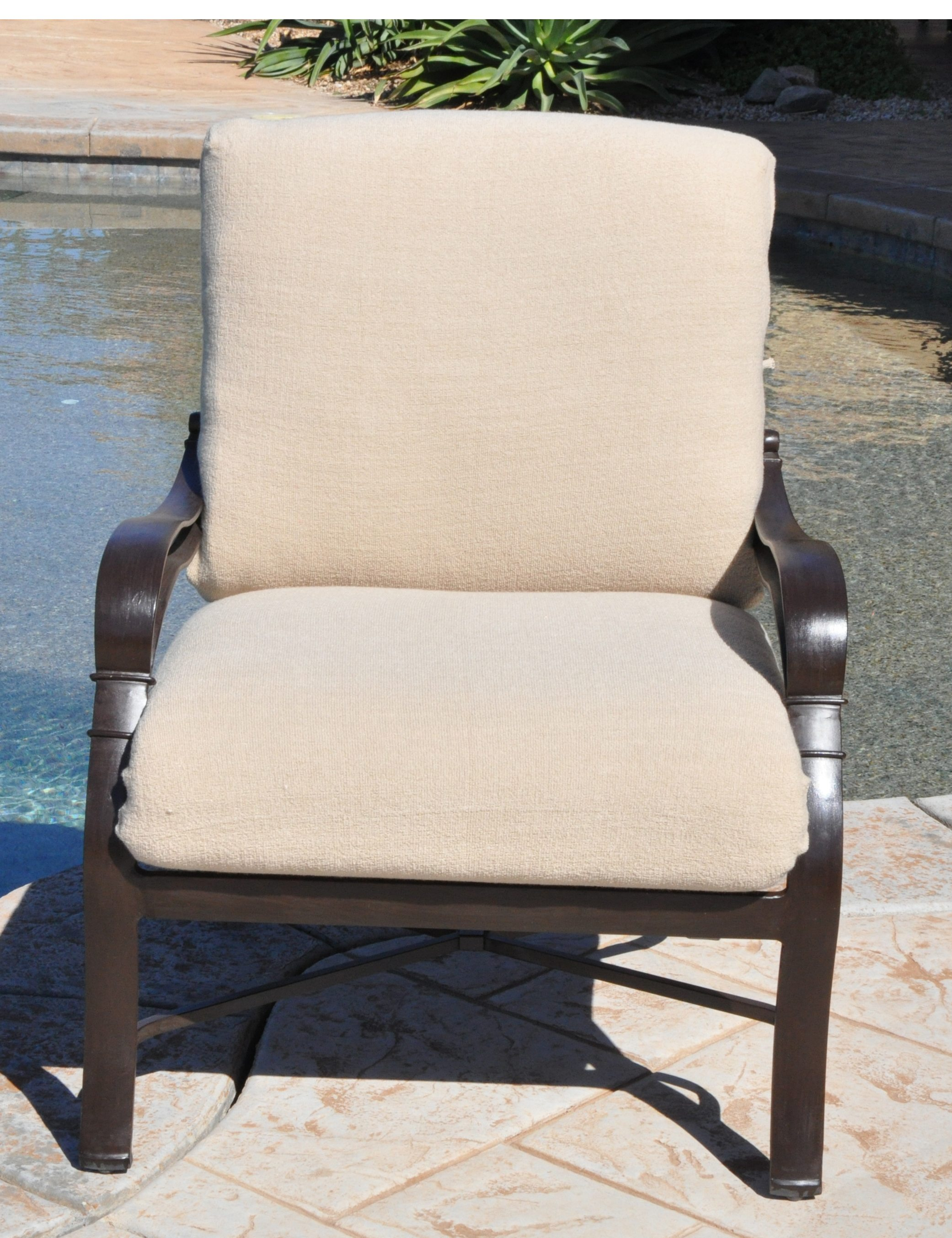 Outdoor Deep Seat Cushion Slipcovers (2 piece) - CushyChic