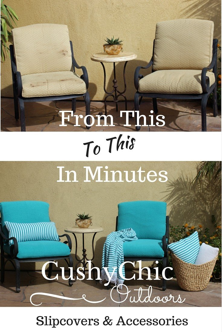 Cushychic Coloring Outdoor Living Space With Cushion
